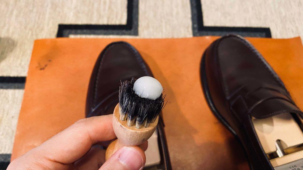 靴底に塗るクリーム