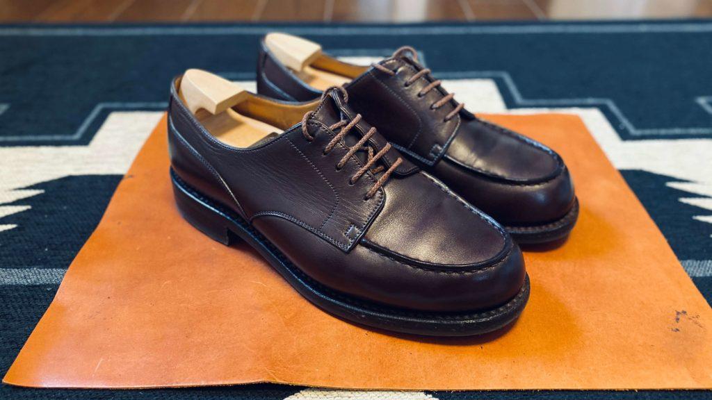 靴磨き_ジェイエムウェストンゴルフ