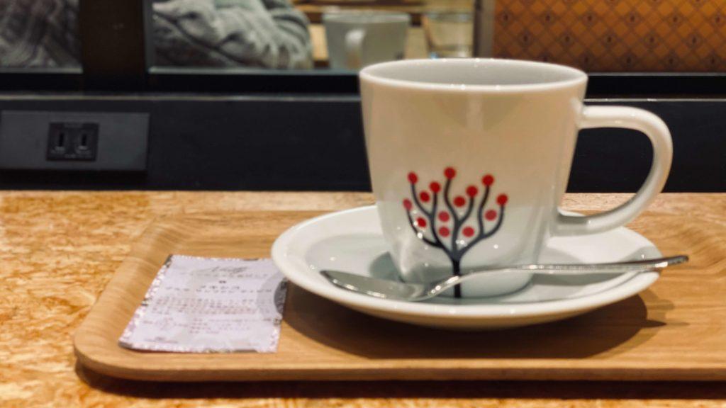 カフェレクセルのコーヒー