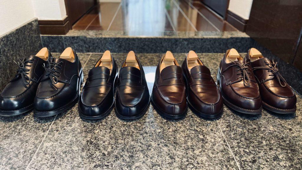 ジェイエムウェストンの靴たち