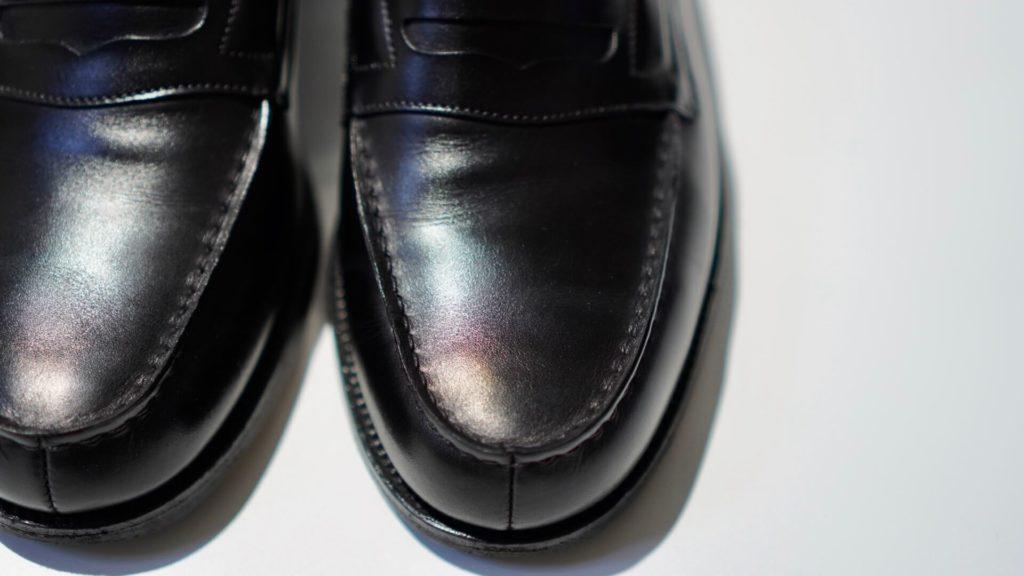 ジェイエムウエストン180黒表面の輝き
