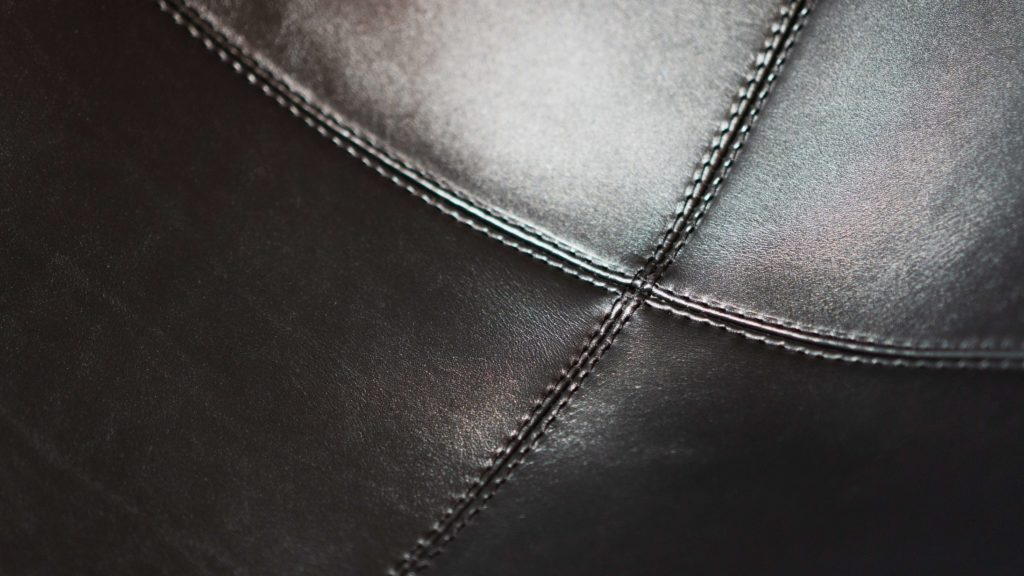 BKFチェア座面の縫い目