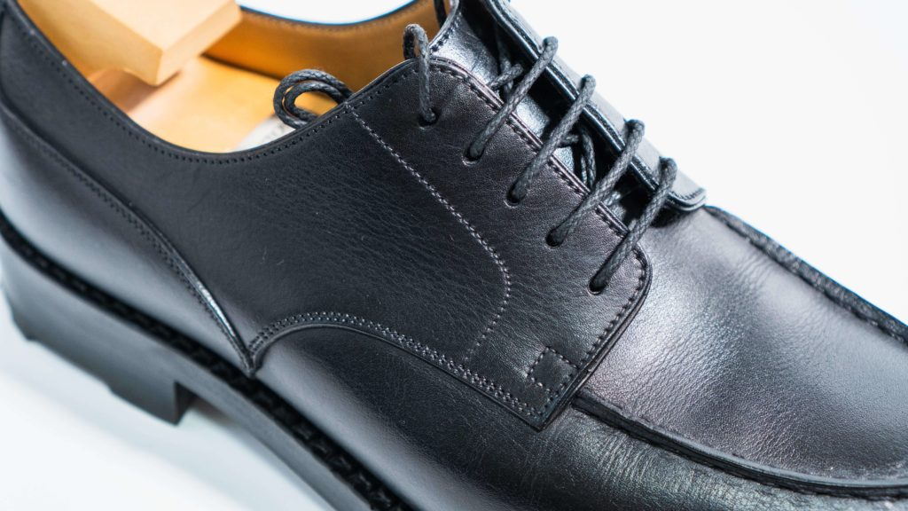 ジェイエムウエストン641_ブラック靴紐