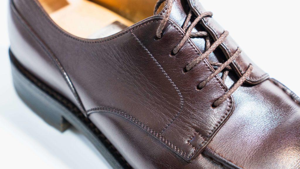 ジェイエムウエストン641_ダークブラウン靴紐