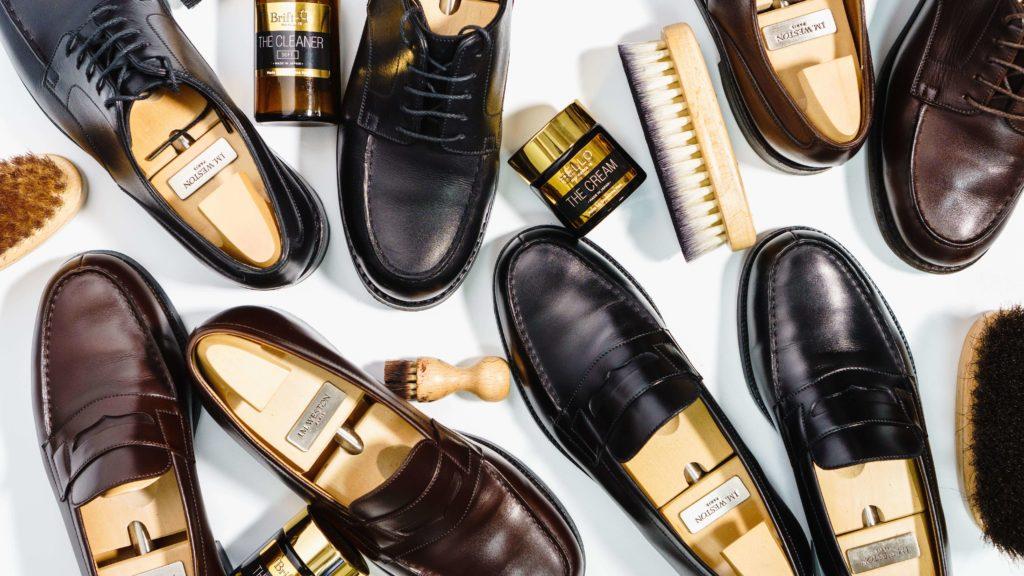 ジェイエムウエストンと靴磨き道具