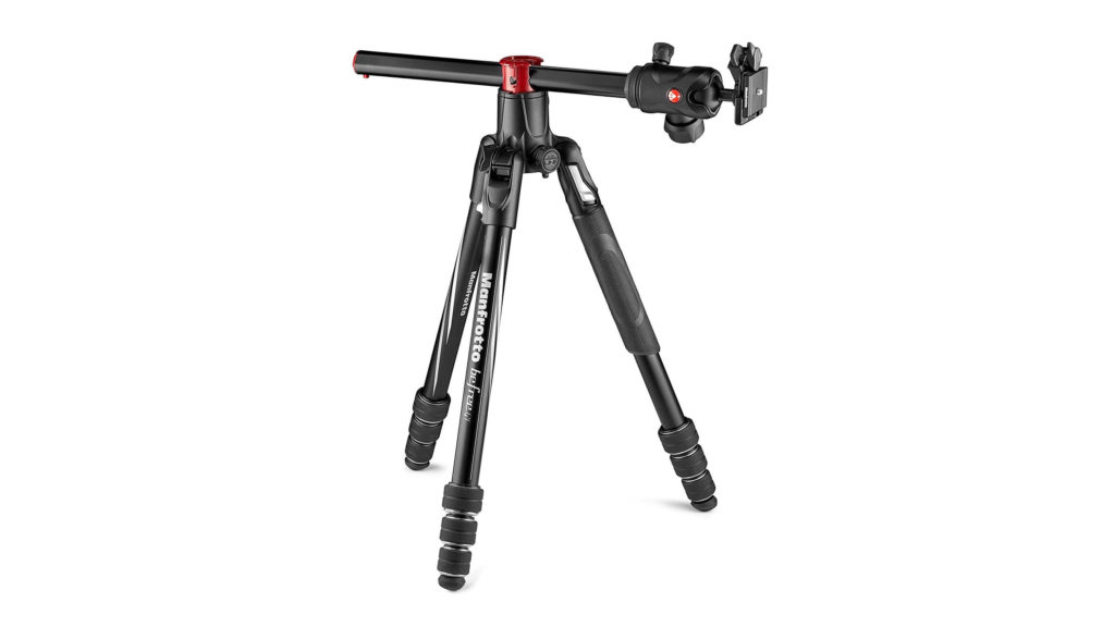 Manfrotto befree GT XPRO俯瞰撮影イメージ