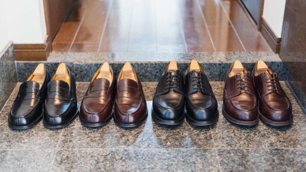 ジェイエムウエストンの靴4足