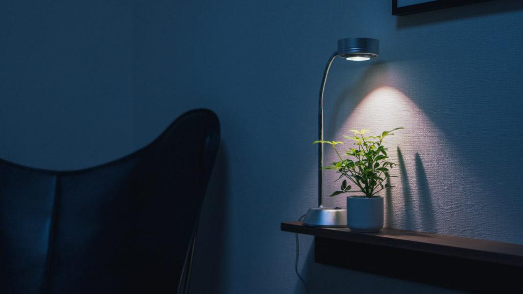 観葉植物用LEDライト