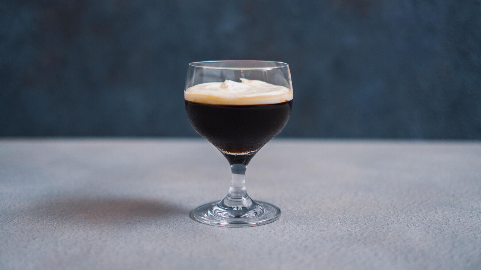 大人のコーヒーゼリー(ラム酒入り)
