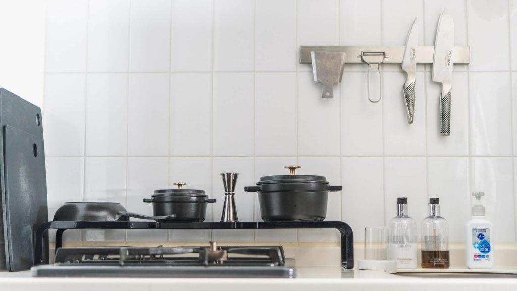 ミニマログのキッチン全体像