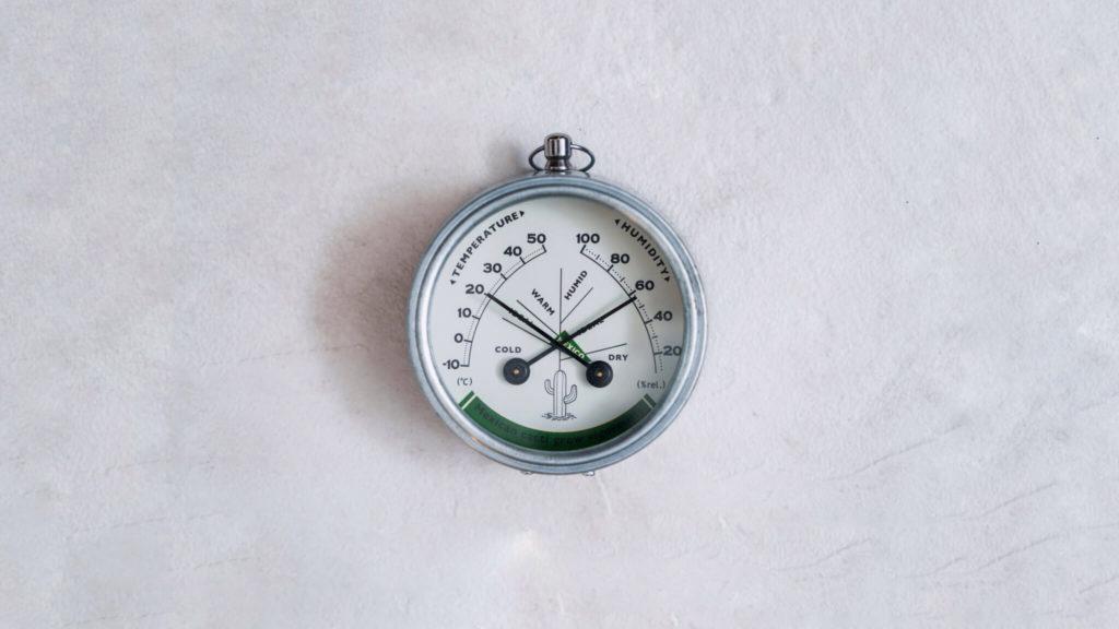 サボテン用の温湿度計