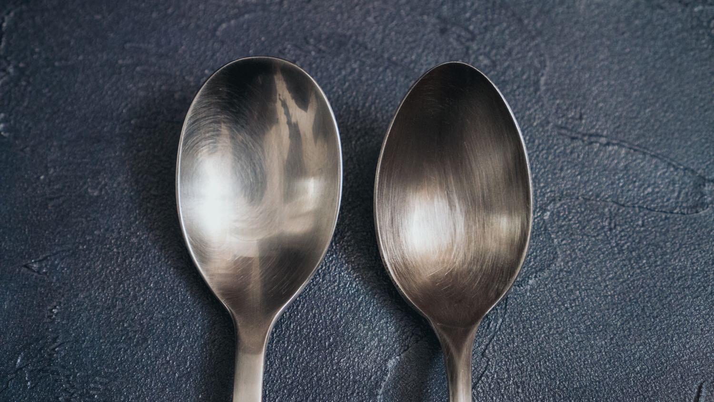 竹俣勇壱スプーンと無印良品スプーンの比較