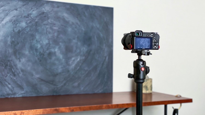 カメラとフォトボード