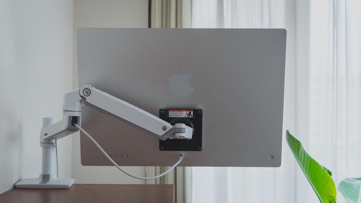 iMac 24インチ VESAマウント背面