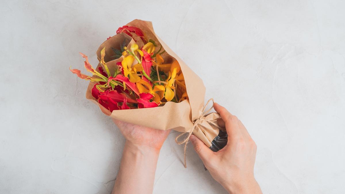 HitoHana(お花の定期便)で届いた花