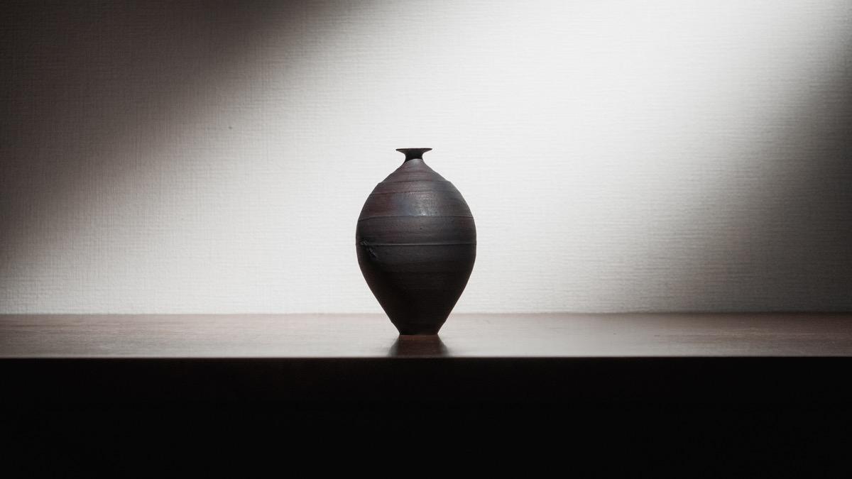二階堂明弘さんの花瓶