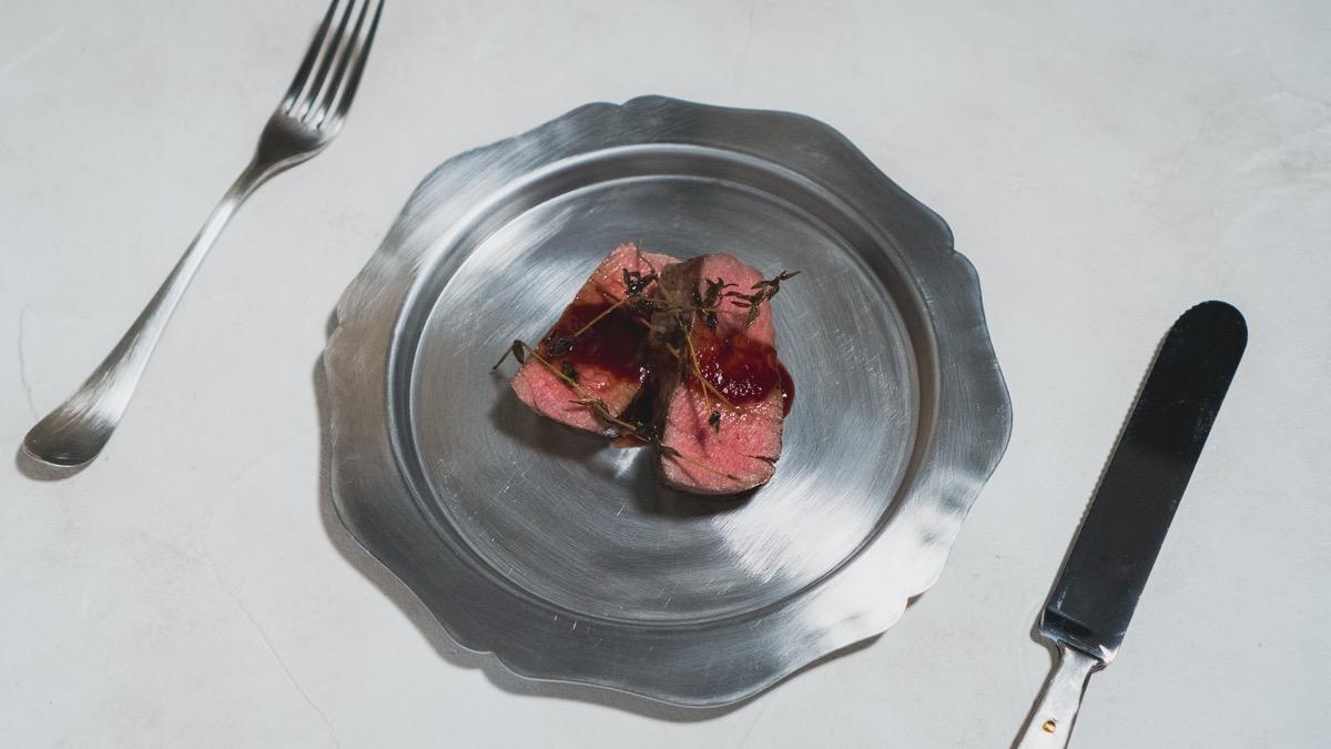 完璧な牛ヒレのステーキ