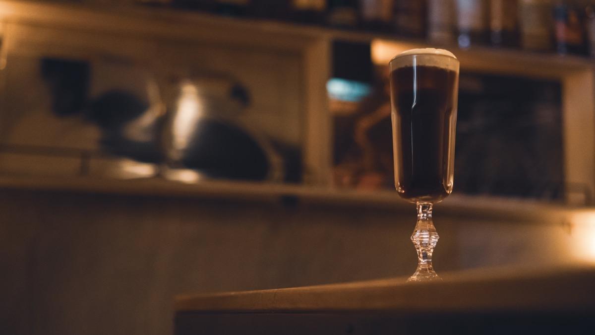 BAR MEIJIUのコーヒーカクテル