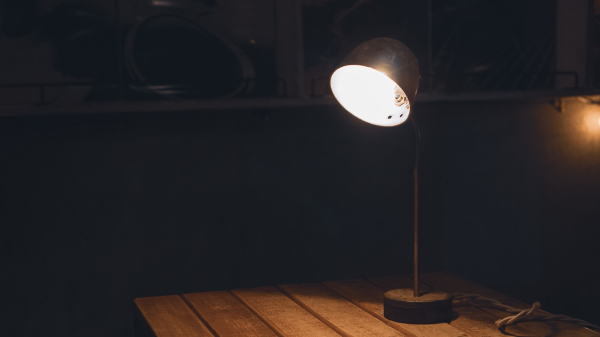 コーヒー抽出用のライト