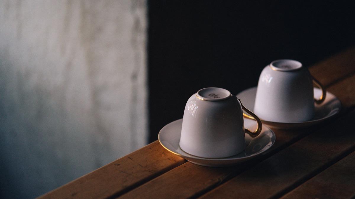 大倉陶園のカップ