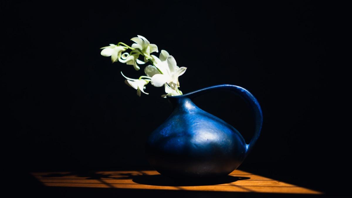 Ruscha(ルシャ)313と花