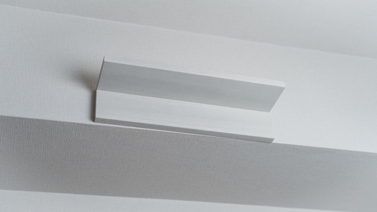 無印良品 壁に付けられる家具棚 ライトグレー44cm