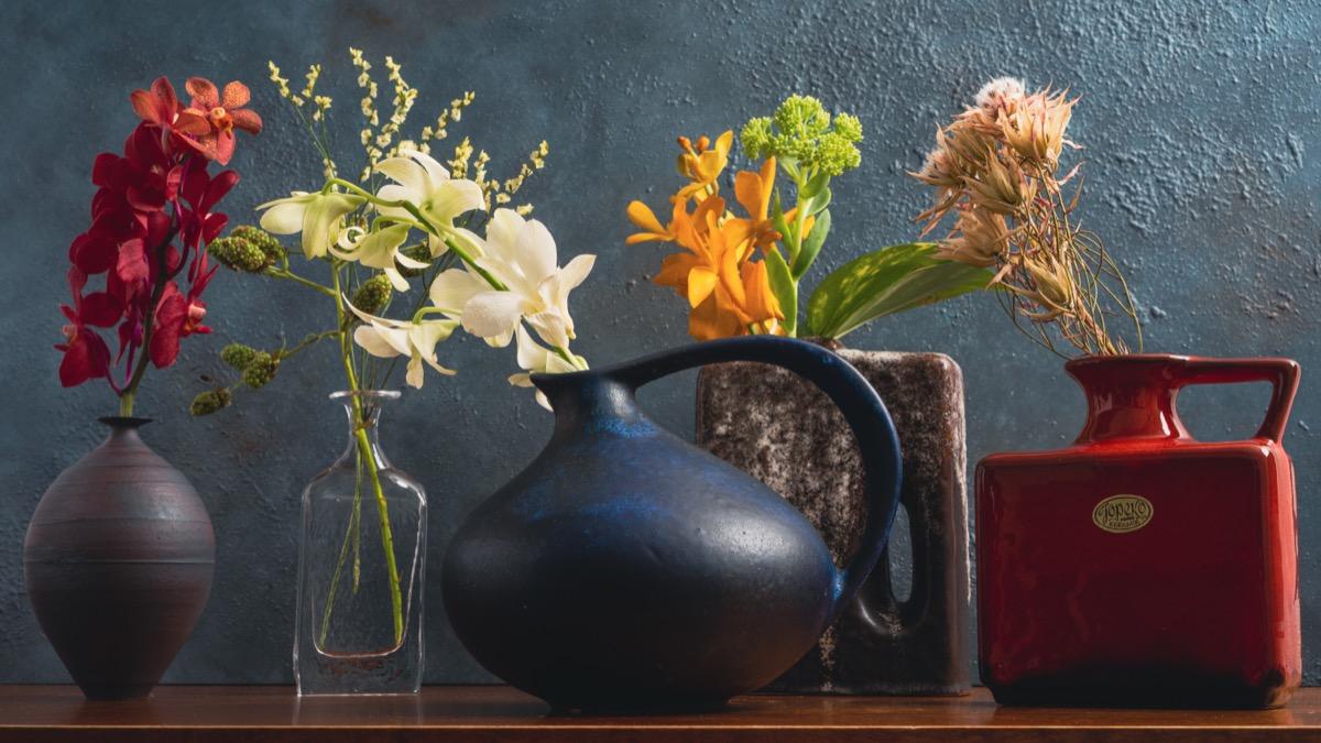 hitohanaと花瓶